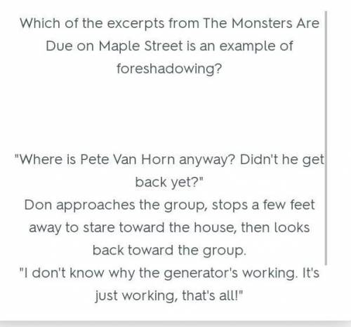 Read the excerpt from The Monsters Are Due on Maple Street ...