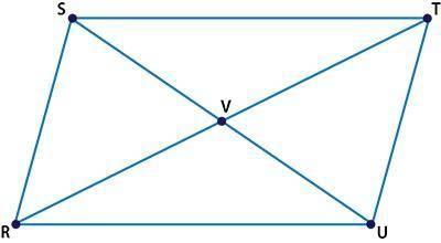 (02.06 MC) Quadrilateral RSTU, diagonals SU and RT ...