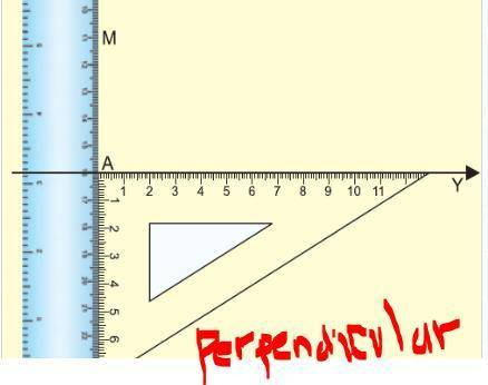 Describe at least two differences between constructing parallel lines in constructing perpendicular